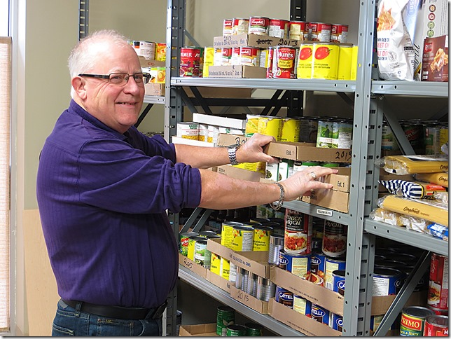 Chatham Outreach For Hunger Food Bank Volunteer Bob Allen