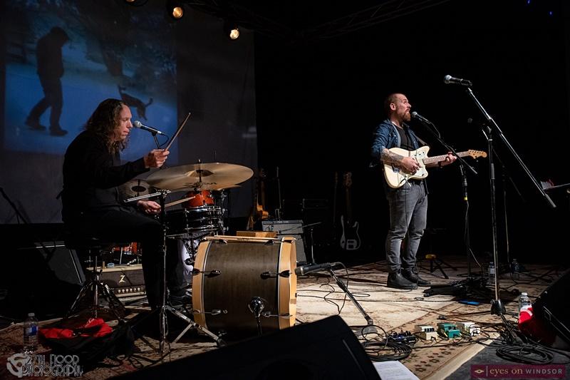 John Huff (drums) and Deni Gauthier (guitar / vocals)