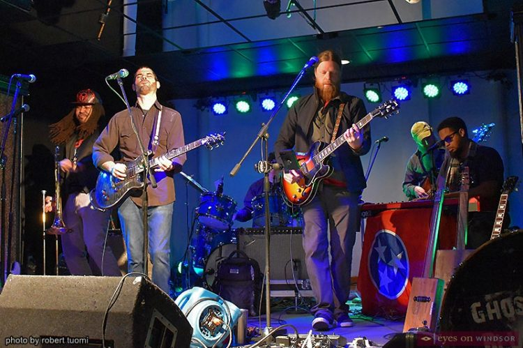 """Ghost Town Blues Band """"Shine"""" The Future of Blues On Windsor"""
