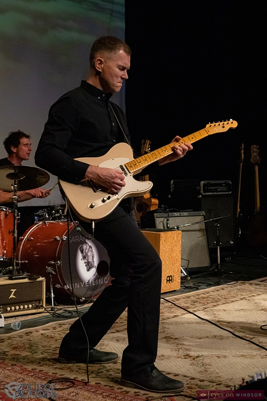 Guitarist Guy Miskelly