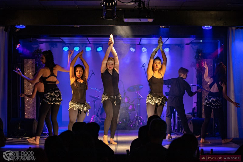 Border City Dance Company peforming at Kaleb Houle Fundraiser For Children's Charity