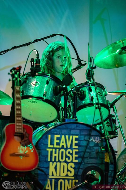 Addisyn Bonadonna (drums/vocals) Leave Those Kids Alone Band Member