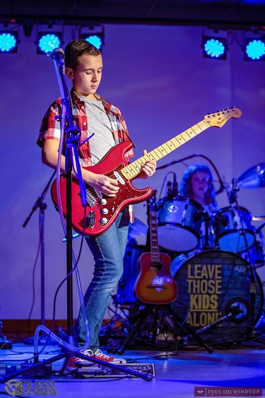 Alex Bonadonna (guitar/vocals) Leave Those Kids Alone Band Member