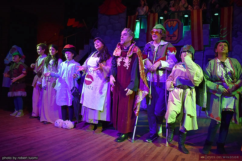 Cast members of Korda Artistic Productions' Holiday Panto Robin Hood