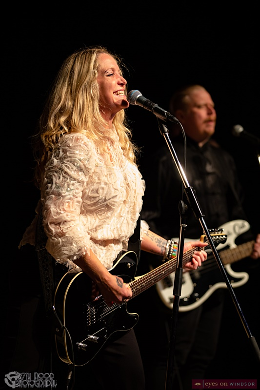 Sarah Smith and Ken Ross during Unveiling Album Release Concert