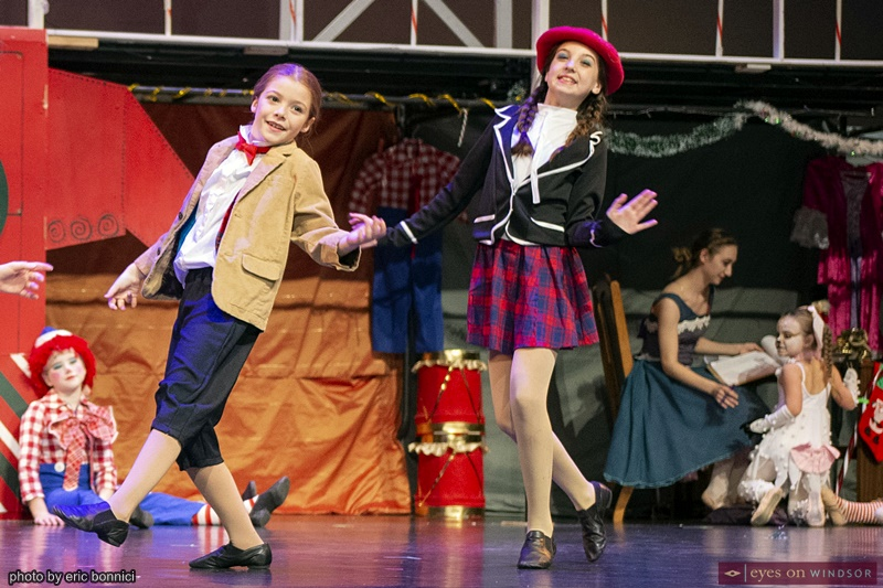 Windsor Dance Experience New Adventures in Toyland cast members Jenna Walker and McKenna