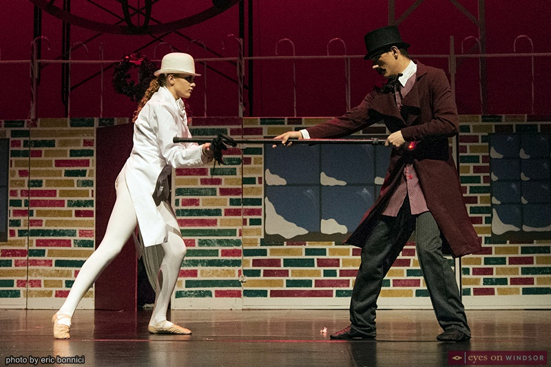 Windsor Dance Experience New Adventures in Toyland cast members Eric Cunningham and Lauren Schmidt