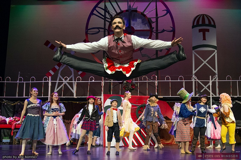 Windsor Dance Experience New Adventures in Toyland cast member Eric Cunningham