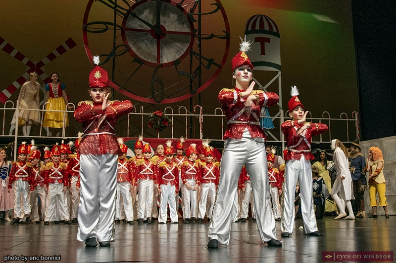 Windsor Dance Experience New Adventurers in Toyland cast members as Toy Soldiers Dancing