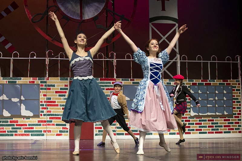 Windsor Dance Experience Mya Castellucci and Michelle Robinet in New Adventures in Toyland
