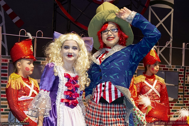 Keaira Giroux and Trey Leendertz in Windsor Dance Experience's New Adventures in Toyland