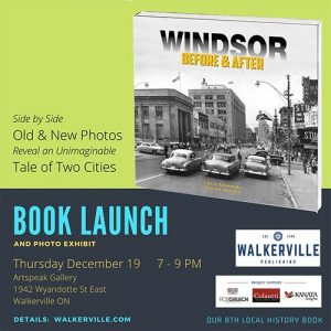 Windsor Before and After Book Launch Poster