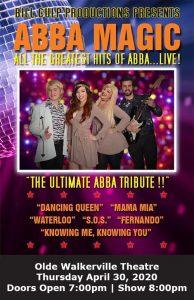 ABBA Magic Bill Culp Poster Olde Walkerville Theatre