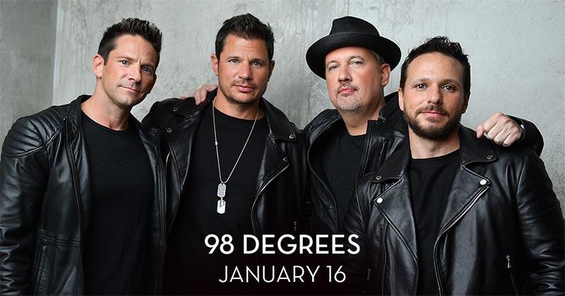 98 Degrees concert at Caesars Windsor