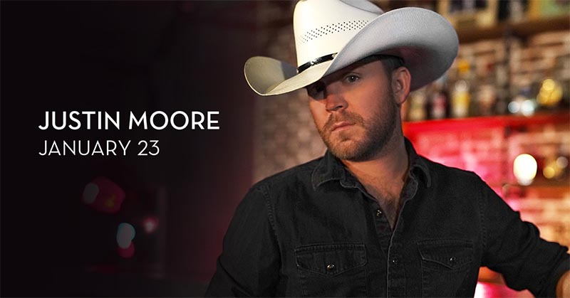 Justin Moore in Concert at Caesars Windsor