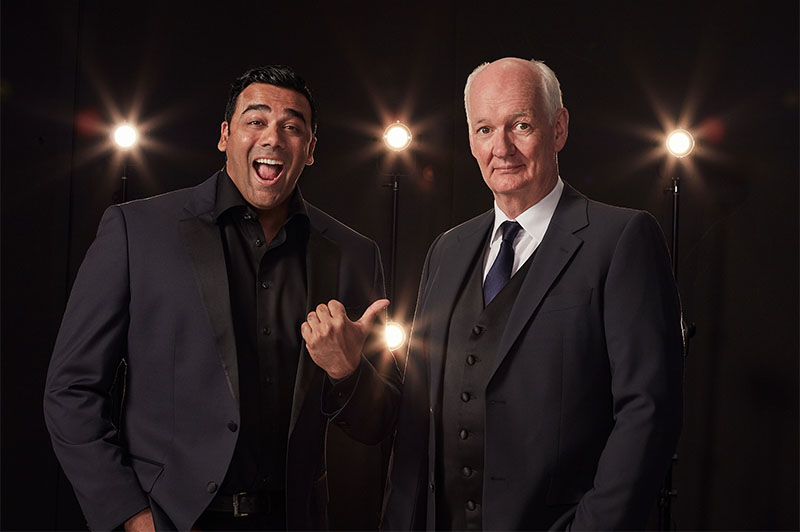 Hyprov Cast Colin Mochrie and Asad Mecci