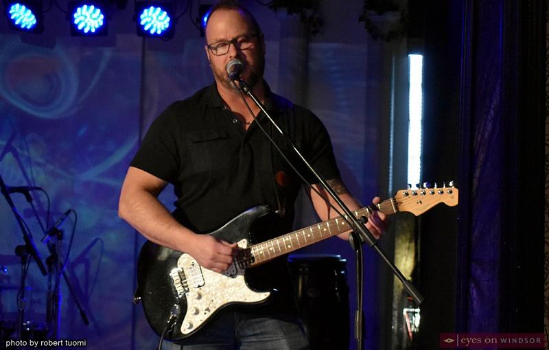 Guitarist Greg Alzner