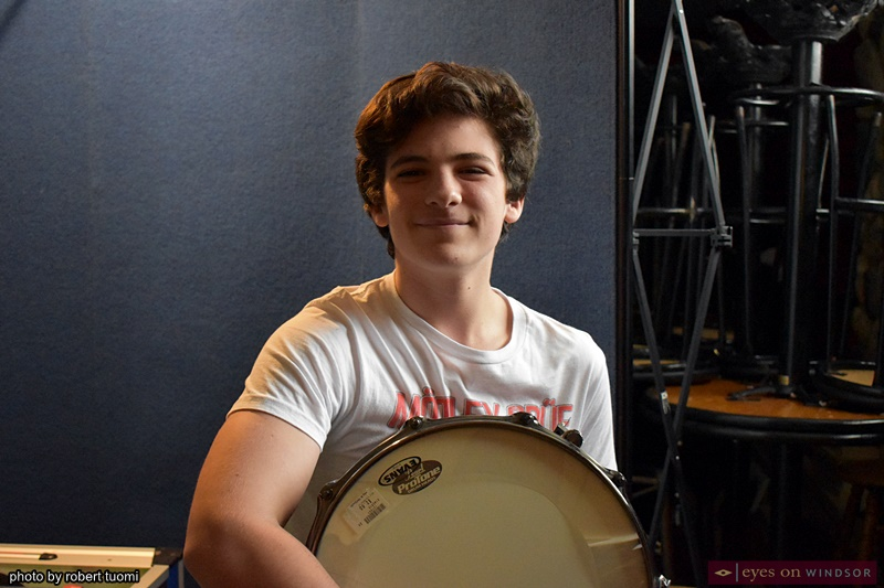 Drummer Michael Alexander Schifanelli