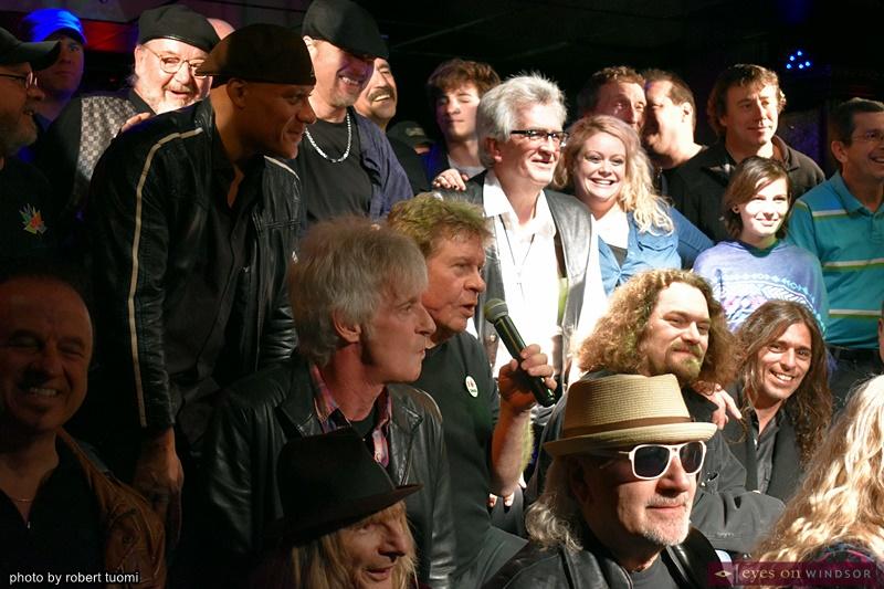Windsor area musicians celebrating Jack Lehoux's retirement