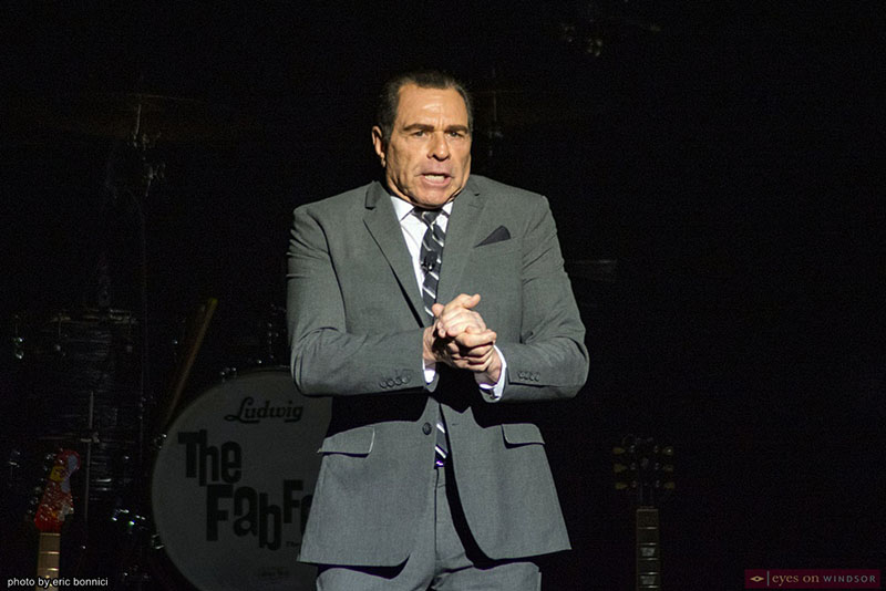 Jeff DeHart as Ed Sullivan