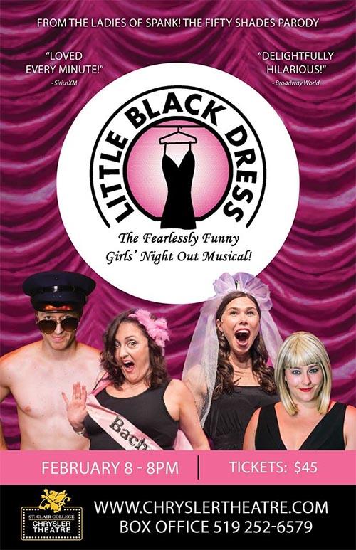 Little Black Dress The Musical Poster Chrysler Theatre