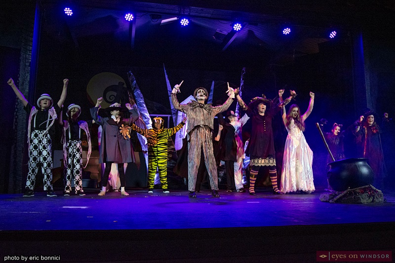 Cast of LAFA's Nightmare Before Christmas Experience