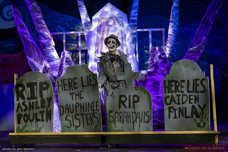 Carson Diemer as Jack Skellington in the Nightmare Before Christmas Experience