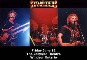 The Stampeders 50th Anniversary Tour Poster Chrysler Theatre Windsor