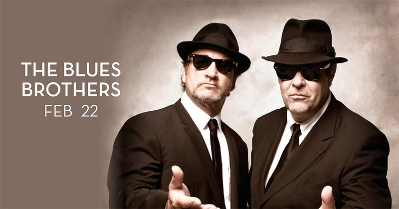The Blues Brothers Featuring Dan Aykroyd and Jim Belushi at Caesars Windsor