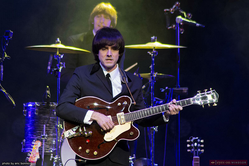 The Fab Four band member Gavin Pring, as George Harrison