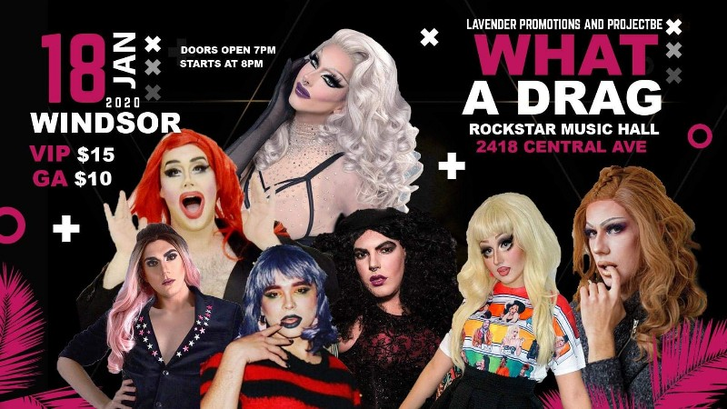 What A Drag Windsor Rockstar Music Hall