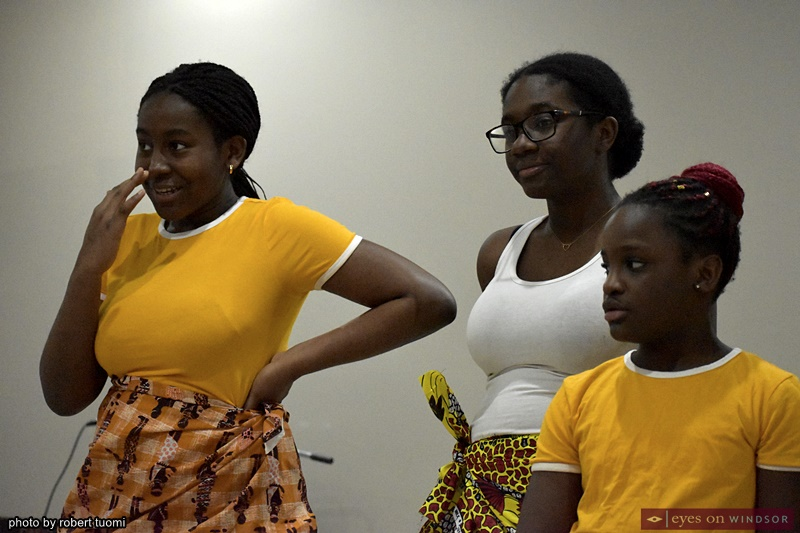 Cameroonian Association of Southwestern Ontario dancers