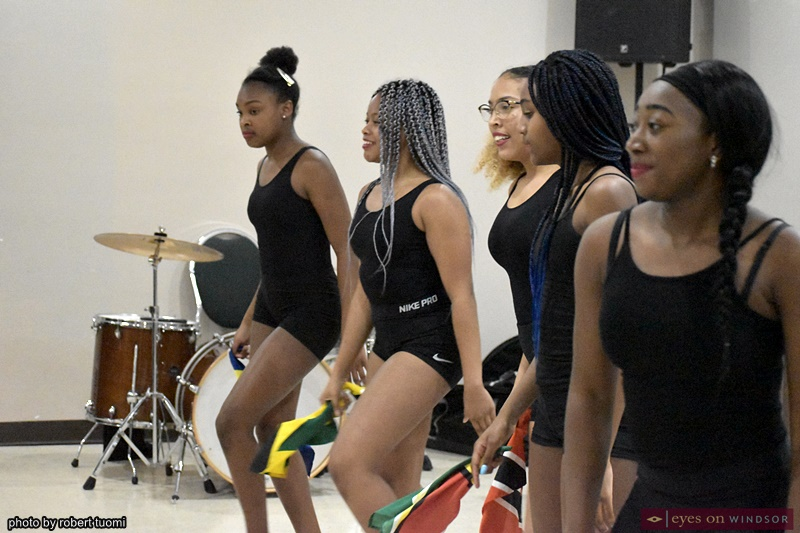Windsor Essex Black History Month Hidaya Diaspora Junior Dance Group