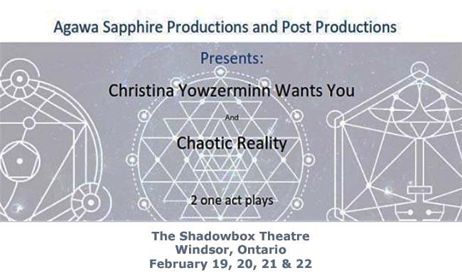 Christina Yowzerminn Wants You & Chaotic Reality Poster