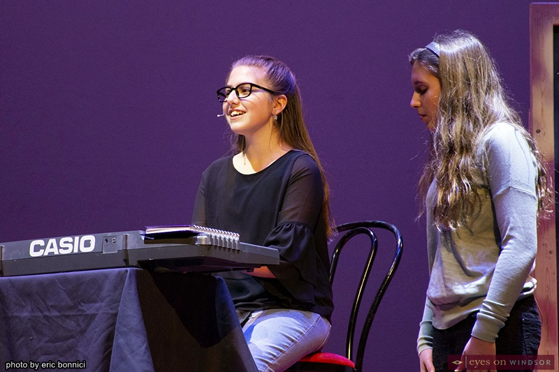 Chrysler Theatre Kids' Giada Gidillini and Maria Hausmann in High School Musical Jr.