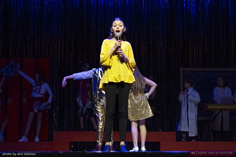 Chrysler Theatre Kids' Cayde Solet in High School Musical Jr.