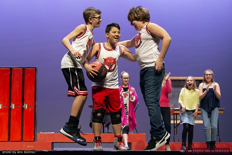 Chrysler Theatre Kids' High School Musical Jr. Jocks Cast Members