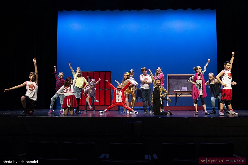 High School Musical Jr. Cast Members Chrysler Theatre Kids