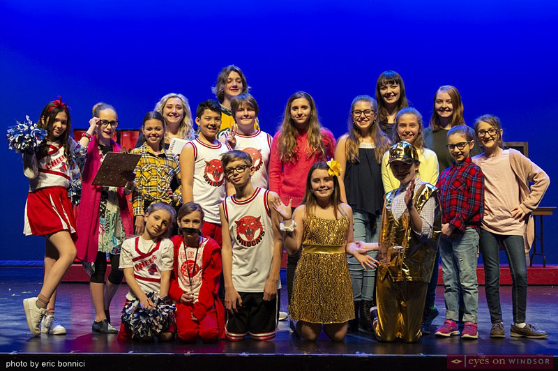 Chrysler Theatre Kids cast High School Musical Jr.