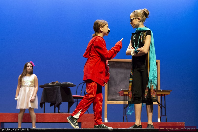 Chrysler Theatre Kids: Madilyn Zajac and Charlotte Bondy in High School Musical Jr.