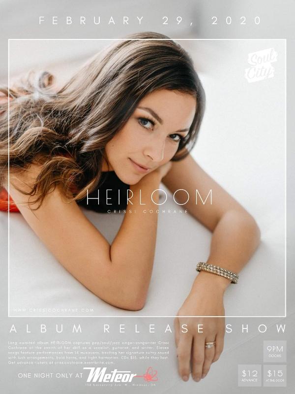 Crissi Cochrane Heirloom Album Release Party