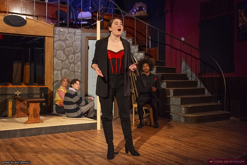 Lauren Crowley in the Fantasticks