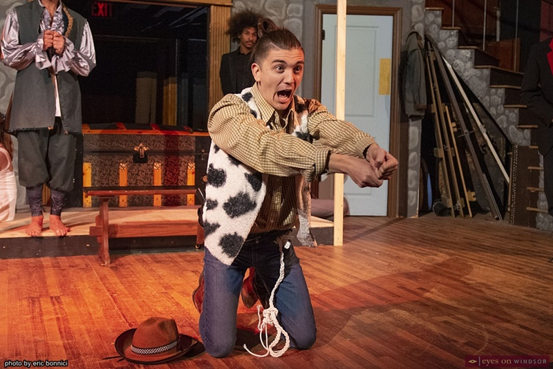 Nikolas Prsa in the Fantasticks