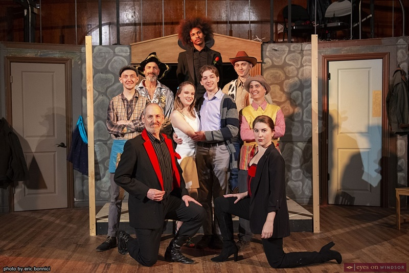 The Cast of The Fantasticks at Kordazone Theatre
