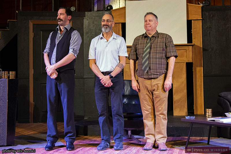 Jeffrey Bastien, Chris Lanspeary, and Dean Valentino in Ghost Light Players Art