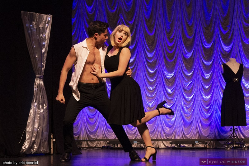 Clint Hromsco and Jenna Cormey in Little Black Dress The Musical