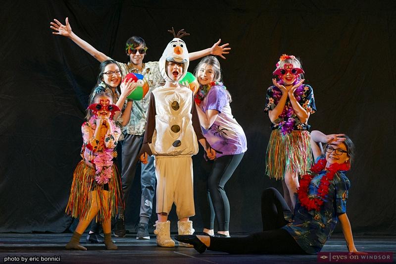 Olaf Frozen Jr. Riverfront Theatre Company