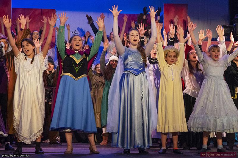 Frozen Jr. Elsa and Anna Cast Members Riverfront Theatre Company