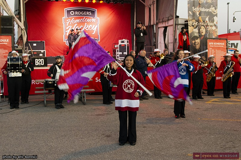 Windsor Optimist Youth Band at Rogers Hometown Hockey