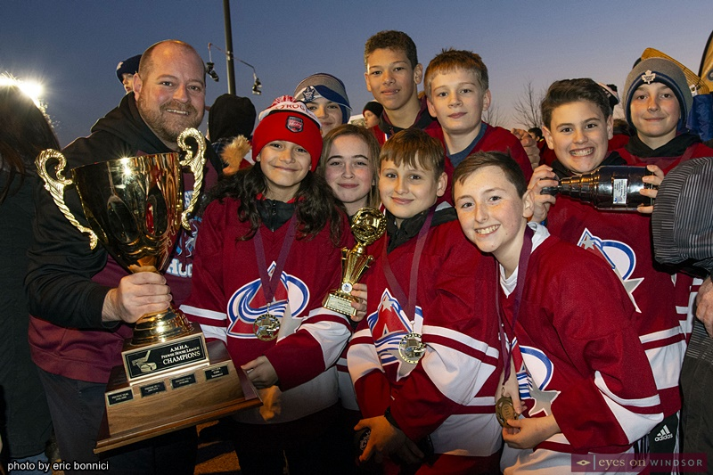 Rogers Hometown Hockey Parade of Champions in Lasalle